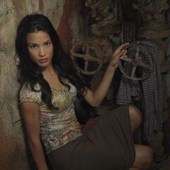 Danay García como <i>Sofia Lugo</i> en <i>Prison Break</i>.
