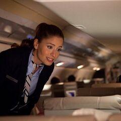 Mercedes Mason como <i>Jenny</i> en <i>Quarantine 2: Terminal</i>.
