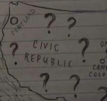 Civic Republic Karte