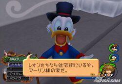 Scrooge in KH2