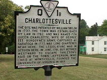 CharlottesvilleMarker