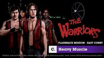 The Warriors - Flashback Mission C - Heavy Muscle
