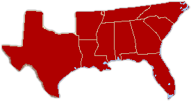 US map-South Historic 1