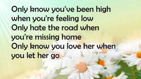 Passenger Let her go lyrics