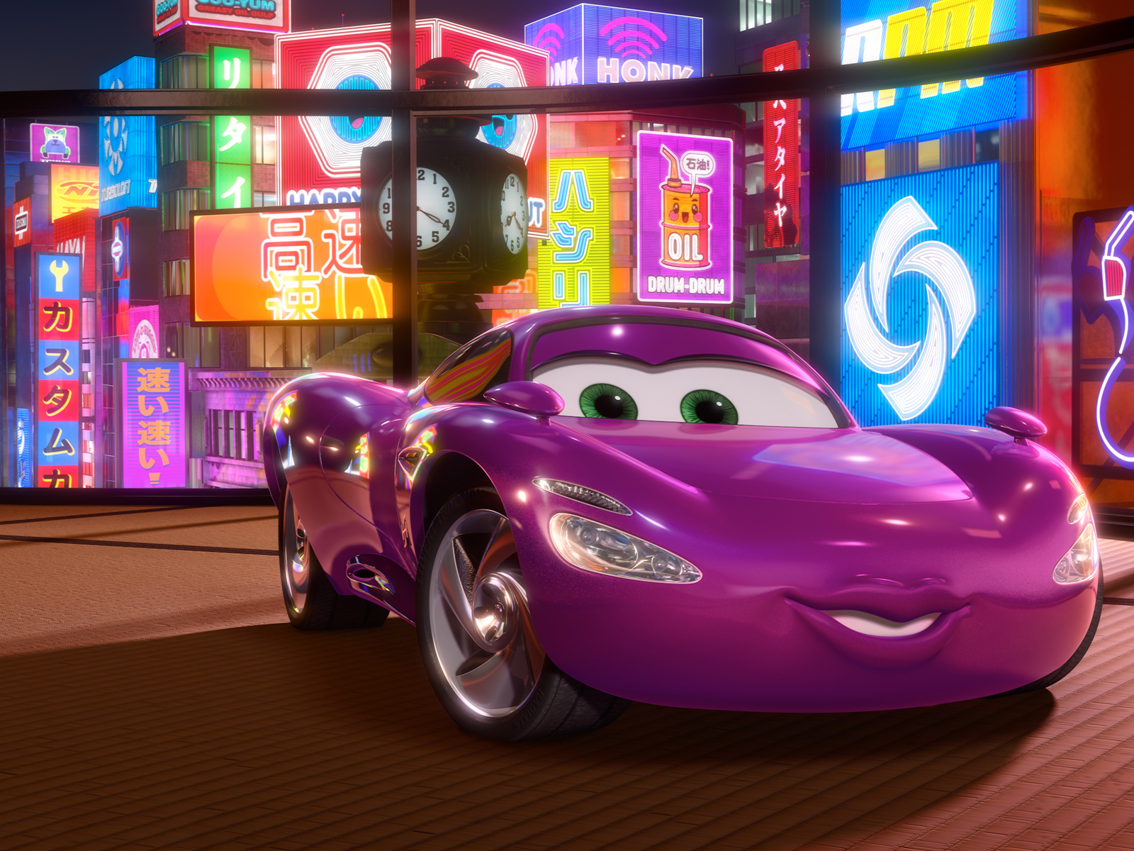 Image Holley Shiftwell In Cars 2 Movie Normaljpg The Wiki Of