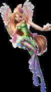 Winx Club Flora Movie Sirenix pose