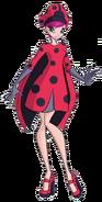 Tecna 7 Ladybug Full