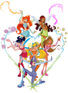 Winx Club 2 Group pose 4
