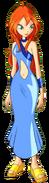 Bloom 1 Blue Dress