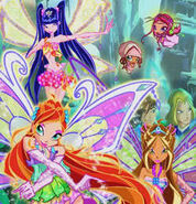 Winx Enchantix Bloom Musa Flora