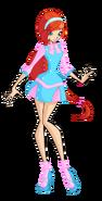 Winx bloom retro alfea casual by enchantingunixfairy-d8k49qc