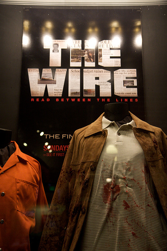 """""""The Wire"""" display"""