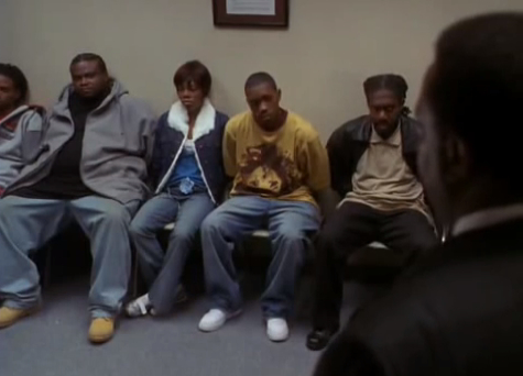 Image - The Wire Season 3 Finale- Bernard Can\'t Wait to Go To Jail ...