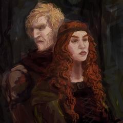Visenna com Korin (Pais de Geralt)