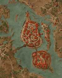 Witcher 3 map oxenfurt