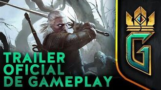 GWENT The Witcher Card Game Trailer Oficial de Gameplay