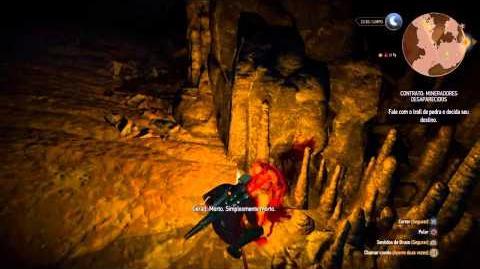 THE WITCHER 3 - CONTRATO- MINERADORES DESAPARECIDOS - GAMEPLAY 10