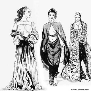 Sabrina, Marti e Keira por Robert