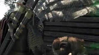 The Witcher 3 -58 Contrato- Rastros misteriosos - Uivador - Demônio Chorabash (Marcha da Morte)