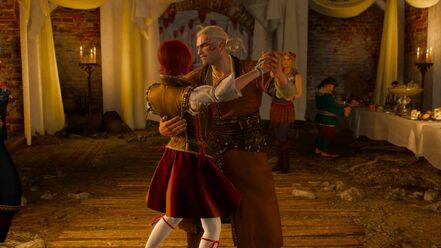 Geralt shani dance