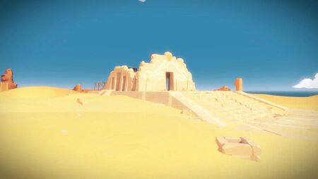 The witness desert ruins 9