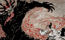 Samurai jack vs aku by uzi91-d622es7