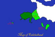 Map of Fedeledland