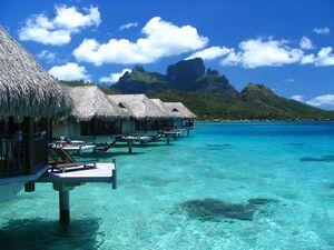 Blue Lion Islands' Coast