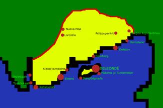 Deleonde Prefecture w cities
