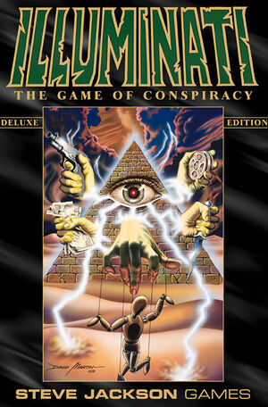 Illuminati card game