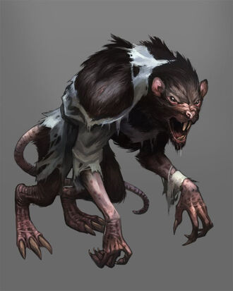 Monster - Wererat