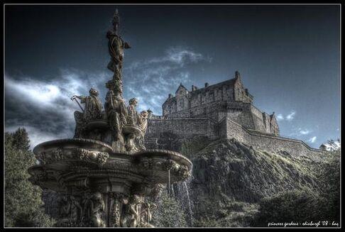 Edinburgh princess gardens by haq