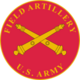 U.S. Army Field Artillery, branch plaque