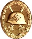 Wound Badge 1944 (Gold)