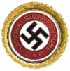 NSDAP Party Badge (Gold)