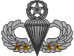 Master Parachutist Badge (4 Jumps)