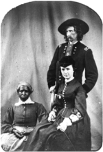 Custer, wife Libby, cook Eliza