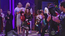Katie & Mariah kids parade