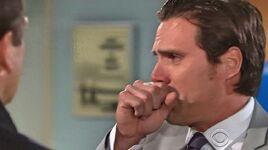 Nick cries