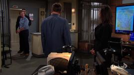 Jack surprised to see Helen