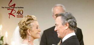 Niktor wedding 40 years of Y&R