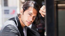 Ravi Shapur sexy pose