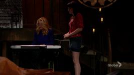Tessa helping Nikki