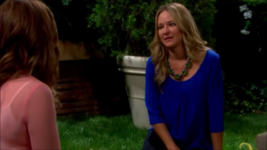 Sharon confides in cassie