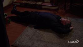 Victor unconscious