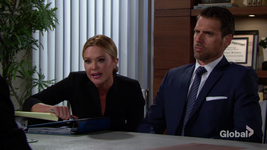 Brittany as Nick's lawyer