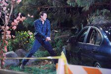 Nick smashes car