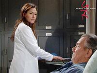 Meredith treats Victor