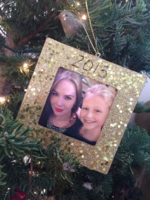 Mariah & Faith ornament