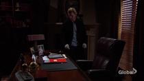 JT at Victor's desk
